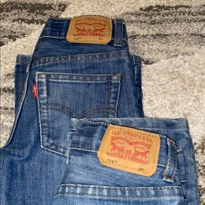👬2 pre owned/used in great condition Levi's 👖